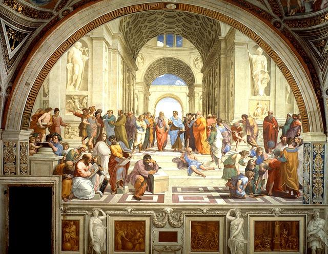 Scuola di Atene - che cos'è la saggezza