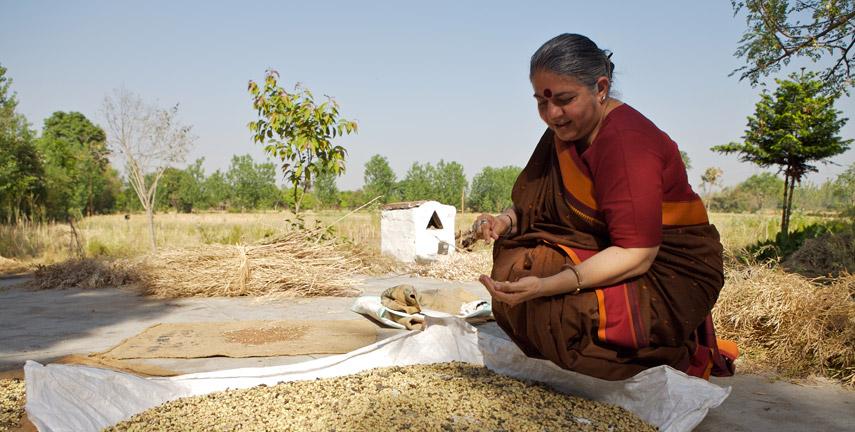 Vandana Shiva filosofia