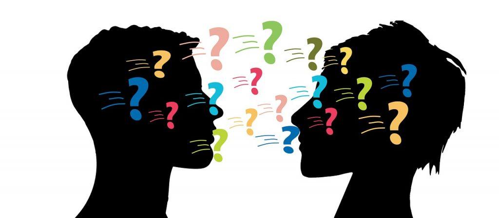 domande tra persone - dialogo socratico