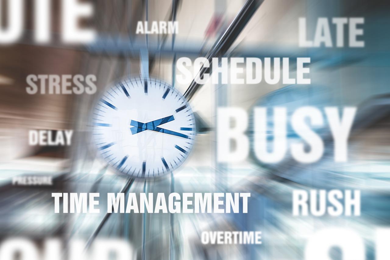 gestione del tempo_fretta